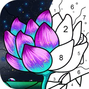 Paint By Number - Free Coloring Book & Puzzle Game