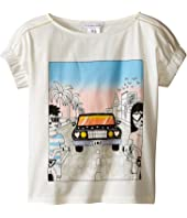 Little Marc Jacobs - Cotton Jersey Tee Shirt Car Or Hello Sunshine Print (Toddler/Little Kids)