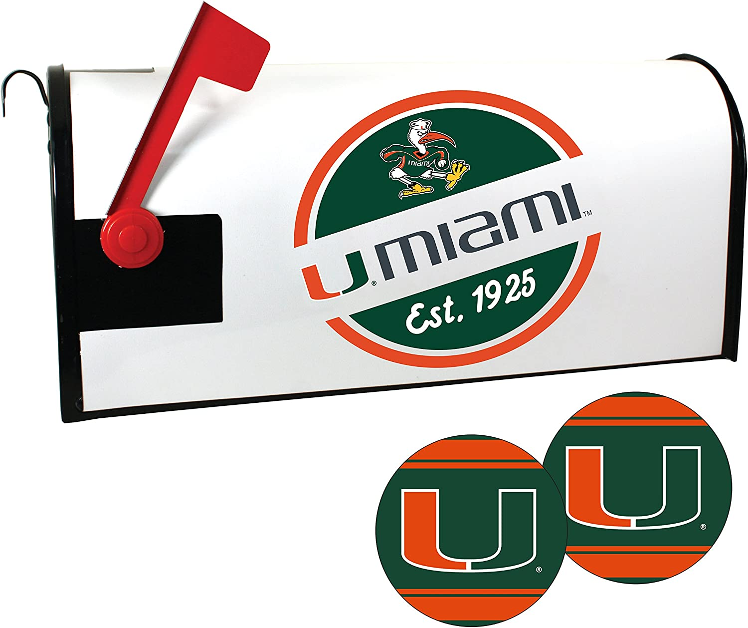 Miami Hurricanes Magnetic Mailbox Set Cover Some Limited time trial price reservation and Sticker