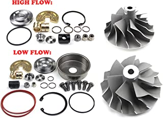 08-10 Powerstroke 6.4L Compound Turbo High and Low Pressure Side Cast Compressor Wheels and Repair Kits