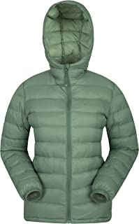 0032b3da5 Mountain Warehouse Seasons Womens Padded Winter Jacket - Water Resistant  Ladies Coat, Warm, Front