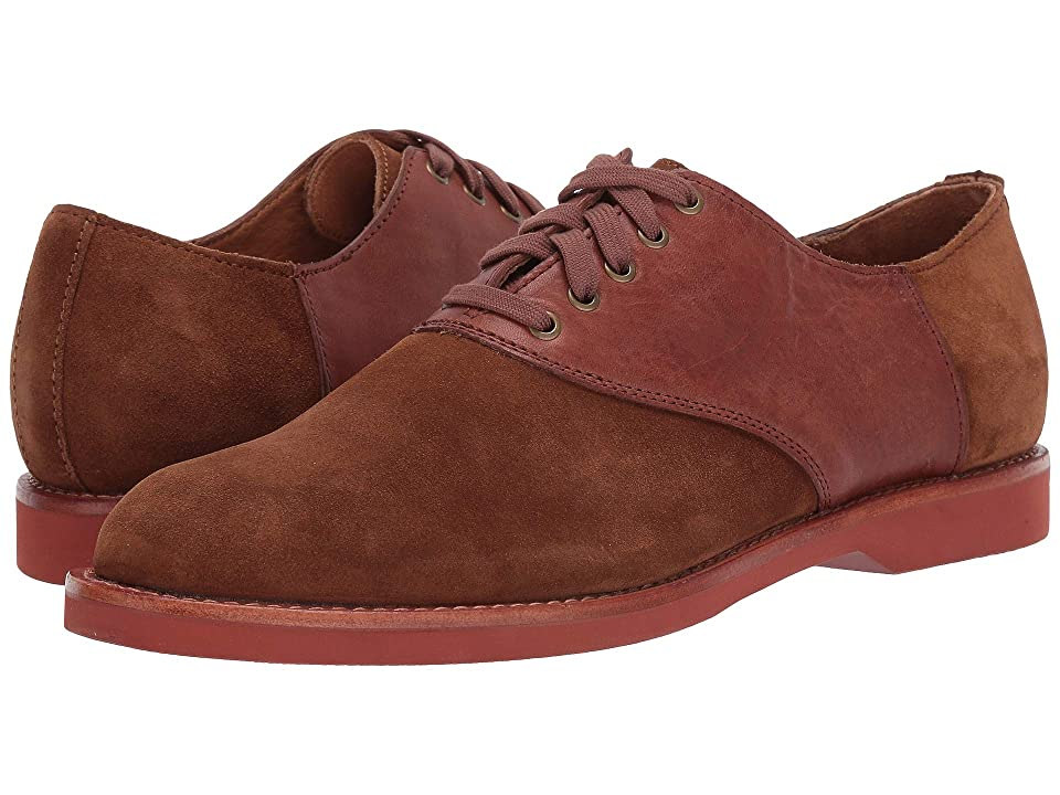 Polo Ralph Lauren Chace Lace-Up Oxford (Snuff/Dark Tan) Men
