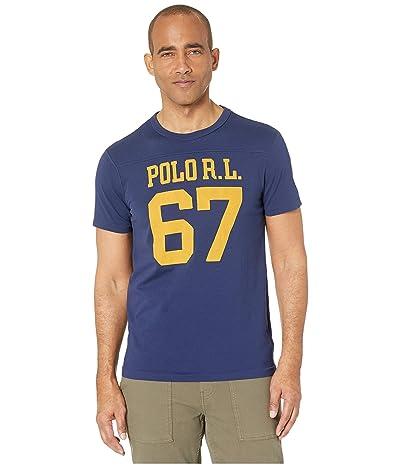 Polo Ralph Lauren Slim Fit Graphic T-Shirt (Cruise Navy) Men