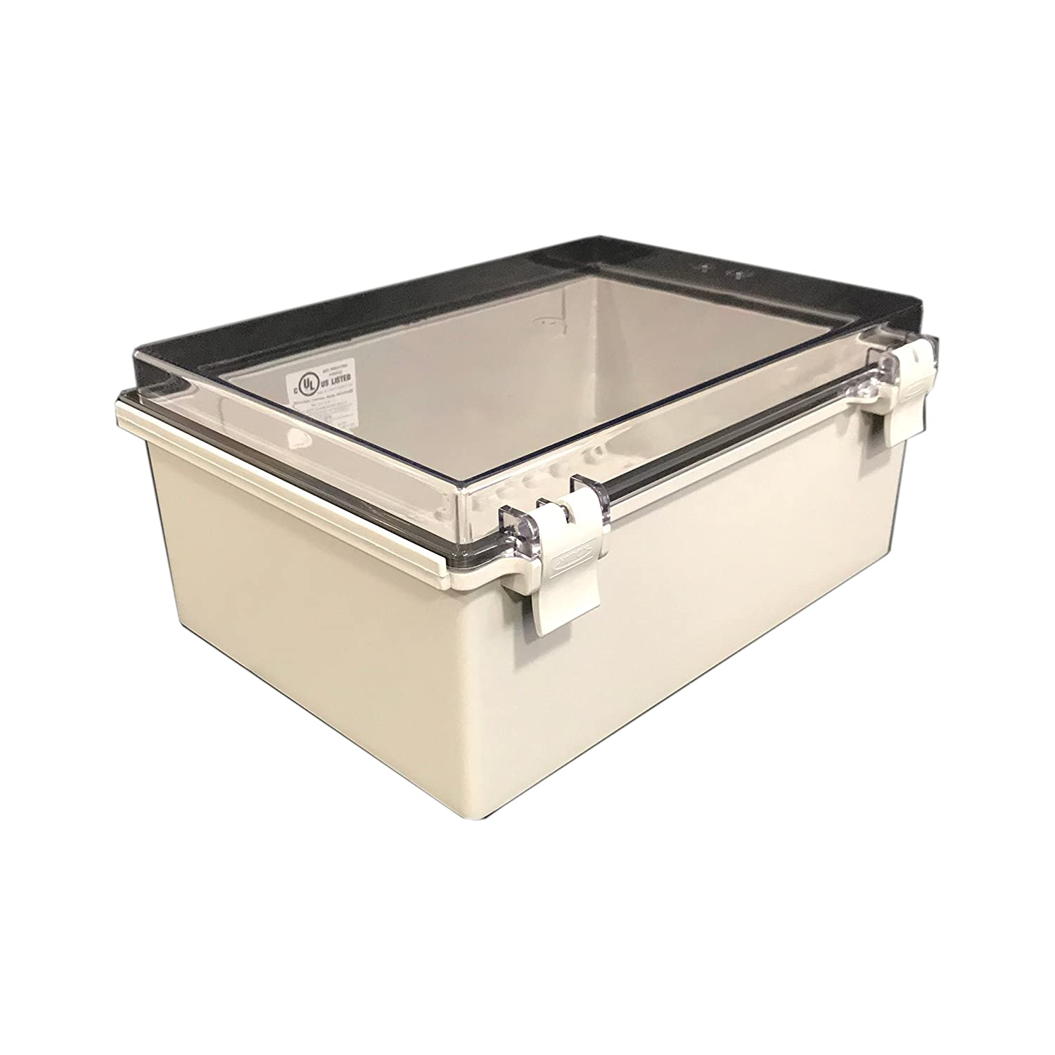 BUD Industries NBF-32422 Recommended Plastic New Free Shipping Outdoor Economy with NEMA Box C