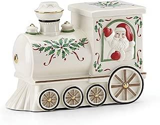 Lenox 879342 Holiday Santa Train Cookie Jar