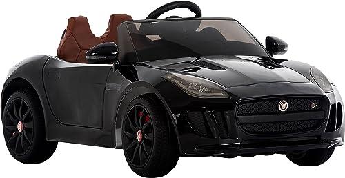 Lizenzprodukt Jaguar F-12 Kinder Ride On Car mit 2,4 elterliche Fernbedienung, MP3-Eingang, 2 eed, EVA Reifen, Musik, Lichter, und openeing Türen