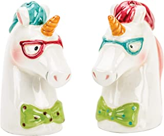 Boston Warehouse 74941 Magical Unicorn Salt & Pepper Shaker Set