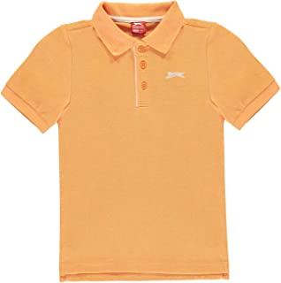 Slazenger Childrens 3//4 Cricket Polo Shirt Junior Boys Short Sleeve Top Tee
