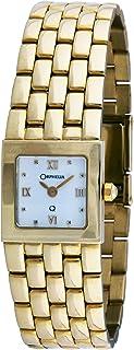 ORPHELIA - mon-7015 - Reloj analógico de Cuarzo para Mujer, Correa de Dorado Color Dorado