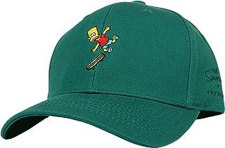 39126d5d983e8 WITHMOONS The Simpsons Ball Cap Bart Skateboard Matt Groening HL1582
