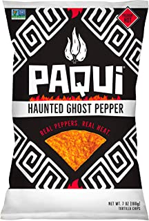 PAQUI Haunted Ghost Pepper Chips, 7 OZ