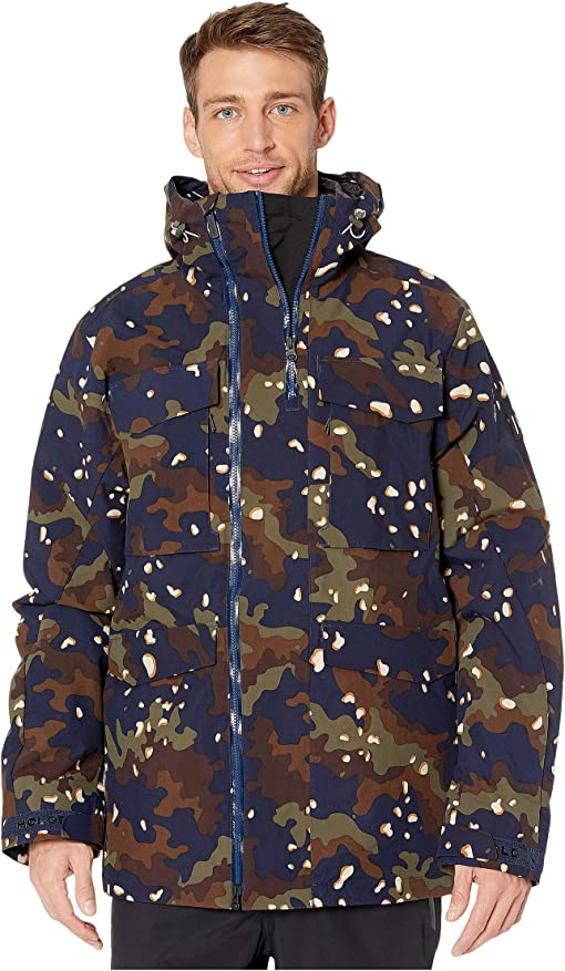 Navy/Chocolate Chip Camo