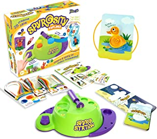 Spyrosity Explore- Quilling Based Creative Toy and Activity Set– with Patent Pending Motorized Tool - for Boys and Girls A...