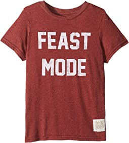 Feast Mode Vintage Heather Short Sleeve Tee (Little Kids/Big Kids)