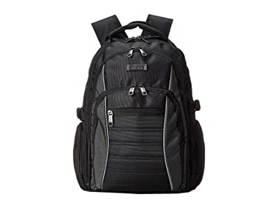 Kenneth Cole Reaction No Looking Back Computer Backpack (Black) Backpack Bags