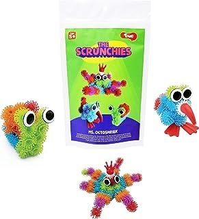Toiing Scrunchies Ms Octoshriek   Innovative Construction & Building Set   DIY Monster Kits   Art & Craft Kit for Kids Age...