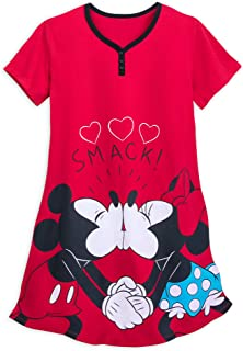 Mickey and Minnie Mouse Nightshirt for Women Multi