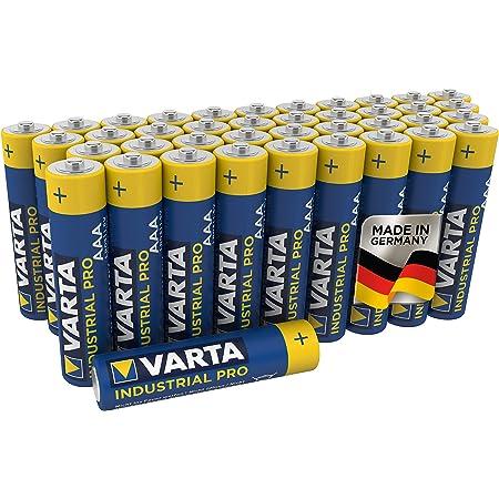 Varta 04003211394, Pilas Alcalinas LR03 AA, Paquete de 40 unidades