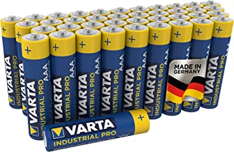 VARTA Industrial Batterie AAA Micro Alkaline Batterien LR03 - 40er pack, Made in Germany