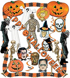 Beistle 24-Piece Halloween Decorating Kit
