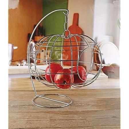 Putuio Fruit Basket Apple Shape Mesh Drain Basket Fruit and Vegetable Storage Basket Cleaning Basket Multi-function Fruit and Vegetable Basket with Lid Protecting Fresh Fruits and Vegetables
