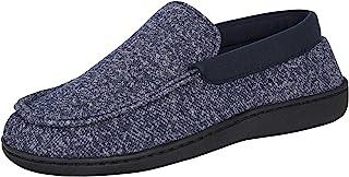 Hanes Men's Slippers House Shoes Moccasin Comfort Memory Foam Indoor Outdoor Fresh
