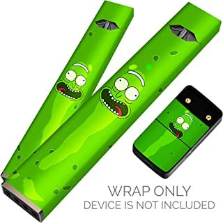 Original Skin Decal for Pax JUUL (Wrap Only, Device is Not Included) - Protective Sticker (Pickle Rick)
