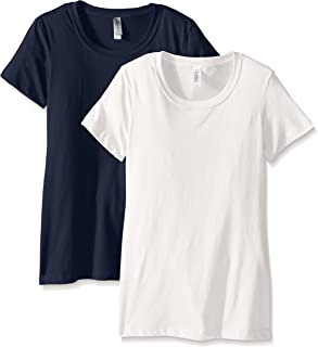Clementine Apparel Women's Ideal Crew Neck Tee (Pack of 2)