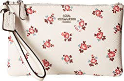 COACH Floral Bloom Small Wristlet