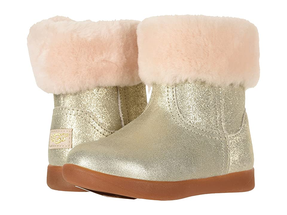 UGG Kids Jorie II Metallic (Toddler/Little Kid) (Gold) Girls Shoes