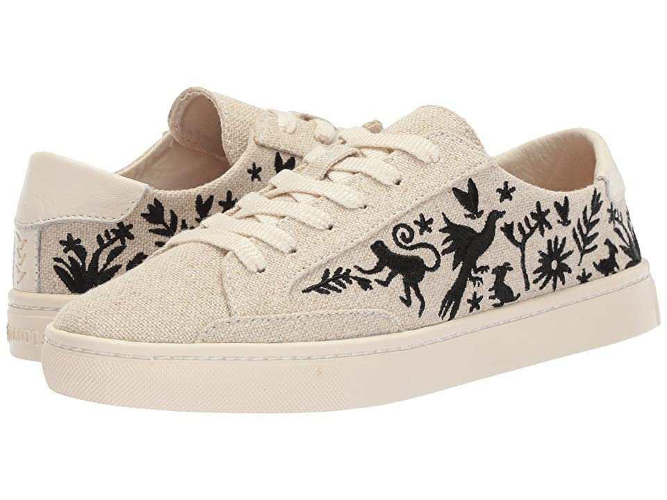 Soludos Otomi Lace-Up Sneaker (Sand Black) Women