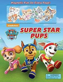 Nickelodeon PAW Patrol: Super Star Pups (Magnetic Hardcover)