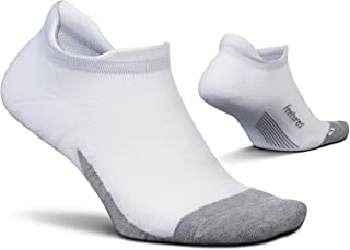Elite Max Cushion No Show Tab Block- Running Socks for...