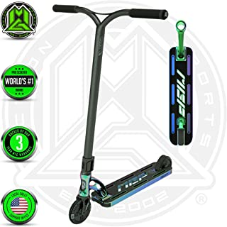 VX9 EXTREME Scooter – Suits Boys & Girls Ages 10+ - Max Rider Weight 220lbs – 3 Year Manufacturer's Warranty – Worlds #1 Pro Scooter Brand – MFX Patented Technology – Light Weight – Superior Strength
