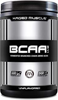KAGED MUSCLE, Fermented BCAA Powder, Plant Based, Non-GMO, Supports Protein Synthesis, Vegan Friendly Branched Chain Amino...