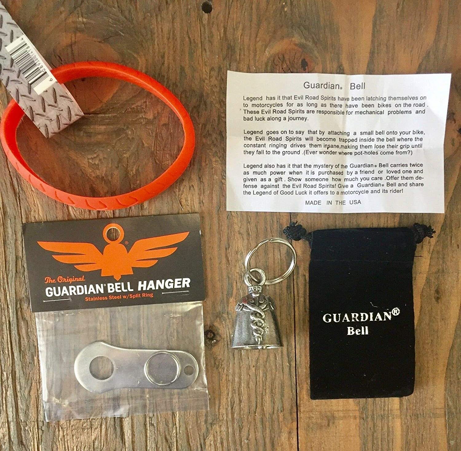 M.D. COMPLETE MOTORCYCLE Direct store OFFicial mail order WRISTBAND W HANGER