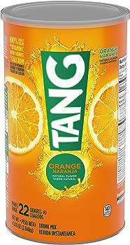 Tang Orange Powdered Drink Mix 72 oz Jars