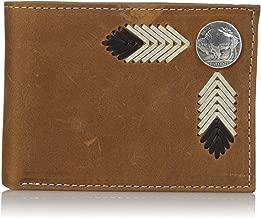brown buffalo wallet