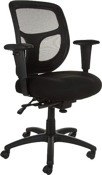 AmazonBasics 网格面料行政中背椅黑色