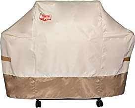 Yukon Glory 7108 Premium Grill Cover for Weber Summit 400 Series Gas Grill Durable Tan Brown