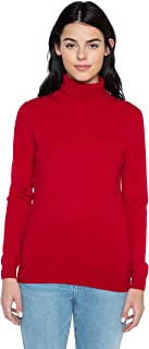 Women's 100% Pure Cashmere Long Sleeve Pullover Turtleneck Sweater