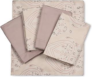 TRIDENT King Sheet Set, 400 Thread Count, 100% Supima Cotton, Sateen Weave, Superior Softness, Luxury Hotel Bedding, Oeko-...
