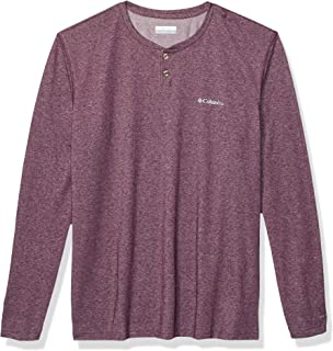 Columbia Mens Thistletown ParkTM Henley 3/4 Sleeve Shirt