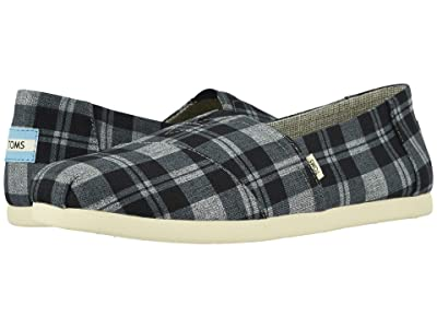 TOMS Alpargata 3.0 (Black Twill Check) Men