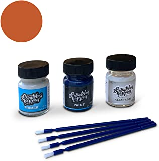 ScratchesHappen Exact-Match Touch Up Paint Kit Compatible with Prowler Flame Orange (VF/PVF/YVF/VVF) - Preferred