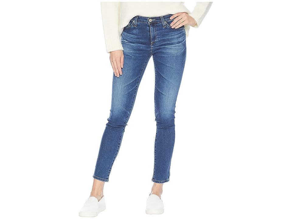 AG Adriano Goldschmied Prima Ankle in 8 Years Blue Portrait (8 Years Blue Portrait) Women's Jeans