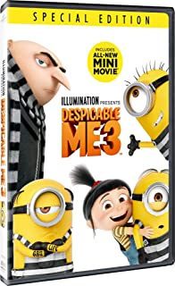 Despicable Me 3 - Special Edition   DVD   Arabic, English & Hindi