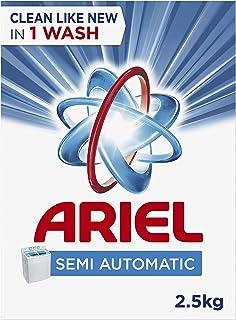 Ariel Semi-Automatic Laundry Powder Detergent, Original Scent, 2.5 Kg