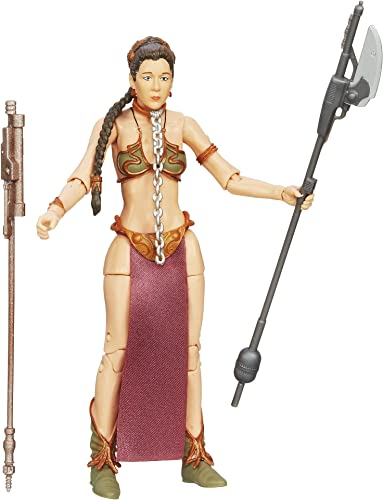Hasbro A4631079 Princess Leia Slave Outfit 6  Inch Figur - Star Wars The schwarz Series