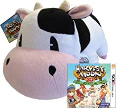 Harvest Moon a New Beginning 3DS with BONUS Plush Cow
